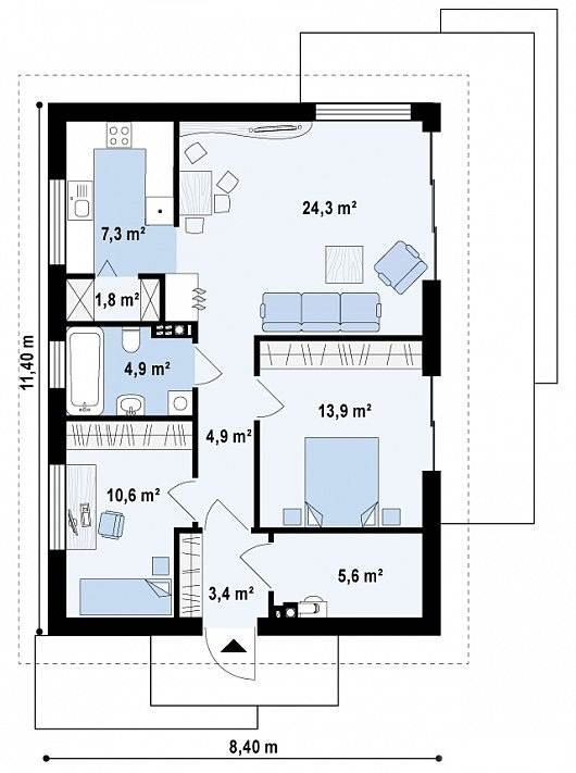 Casa prefabricadas fuengirola desde 76 7 m - Tipos de casas prefabricadas ...