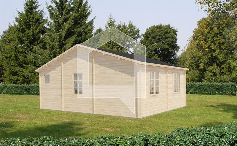 Casa Prefabricadas Avestruz 37m2