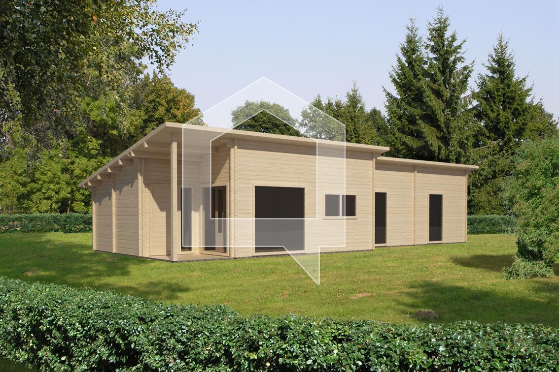 Casa Prefabricadas Cizne 90m2