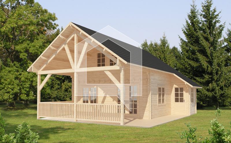 Casa Prefabricadas Cormoran-70m2