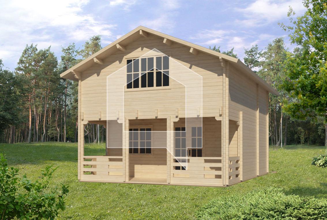 Casa Prefabricadas Loro 75m2