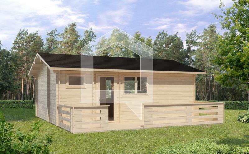 Casa Prefabricadas Faisán 35m2