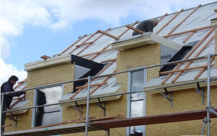 Construcción de techo y revestimientos