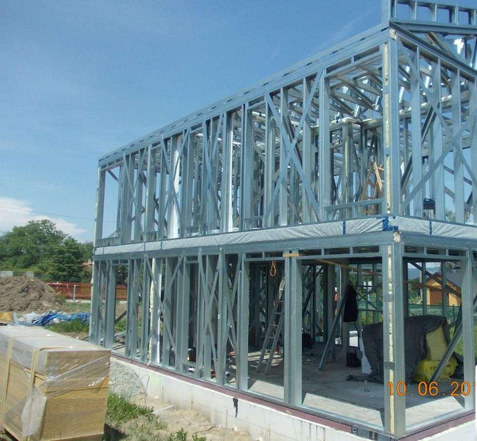 Estructura de acero ligero es extremadamente plantas resistentes FHS Casas.