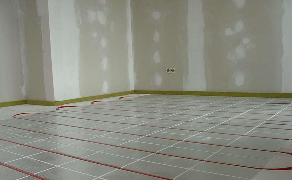 Calefacción por suelo radiante / refrigeración para la comodidad de estar.