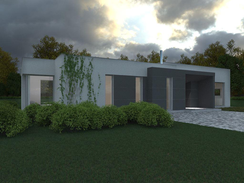 Dise o de la casa prefabricada sq47 casas prefabricadas - Casas diseno prefabricadas ...