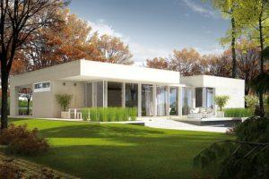 Proyecto de casa EX 6 con techo Energo Plus