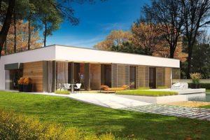 Diseño de la casa EX 7 con refugio MULTI-COMFORT