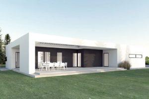 Diseño de la Casa Prefabricada A-16