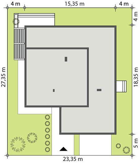 Dise o de la casa prefabricada atos casas prefabricadas for Diseno de casa de 9 x 12