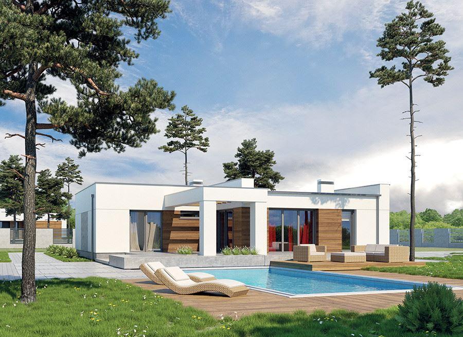Dise o de la casa prefabricada colinas wrzosowe variante ii m186b casas prefabricadas - Casas de diseno prefabricadas ...