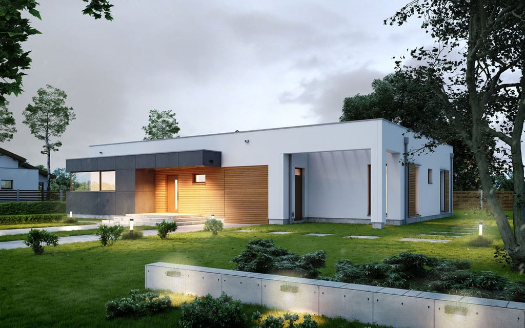 Dise o de la casa prefabricada de bilbao casas prefabricadas - Casas diseno prefabricadas ...