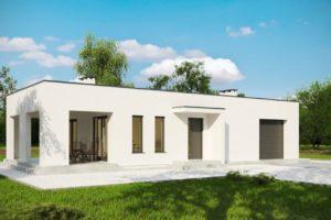 Diseño de la Casa Prefabricada G202 - Edificio recreativo con sauna