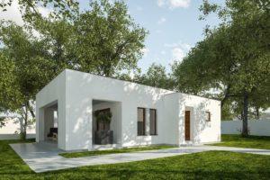 Diseño de la Casa Prefabricada G311 - Una casa de verano