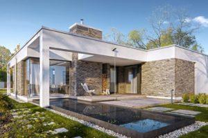 Diseño de la Casa Prefabricada Parterowy 2