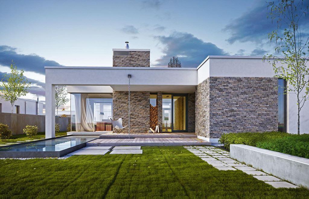 Dise o de la casa prefabricada parterowy 2 casas - Casas prefabricadas diseno ...