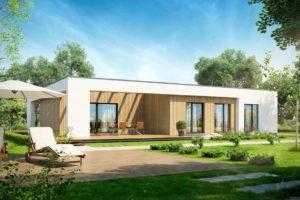 Diseño de la Casa Prefabricada Plaski D11