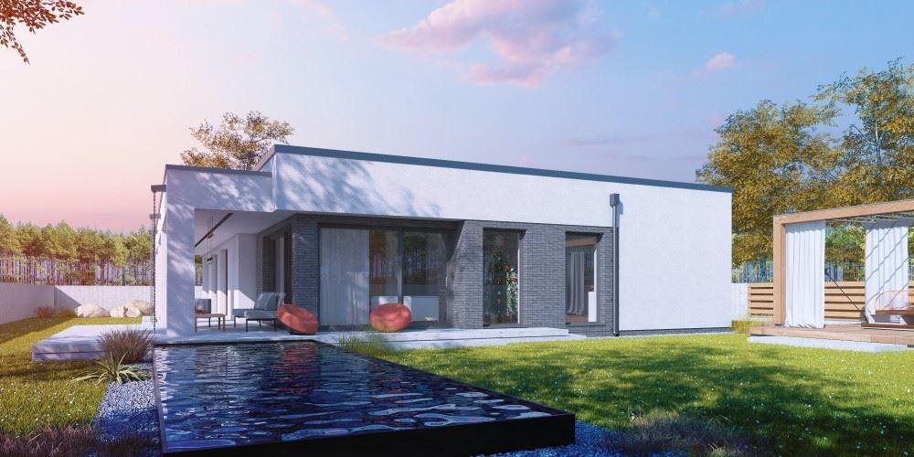Dise o de la casa prefabricada propius ii g2 casas for Diseno casa planta baja