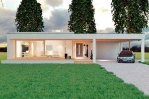 Diseño de la casa SQ27.0