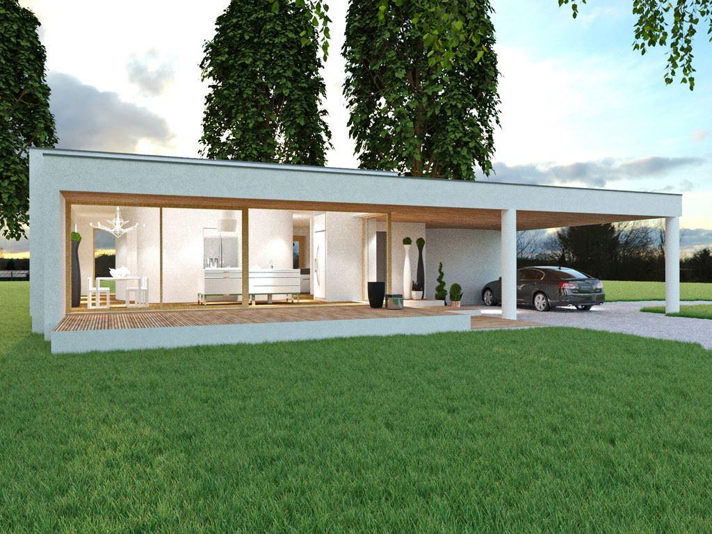 Dise o de la casa prefabricada sq27 0 casas prefabricadas - Casas prefabricadas de diseno en espana ...