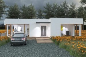 Diseño de la casa SQ44.0