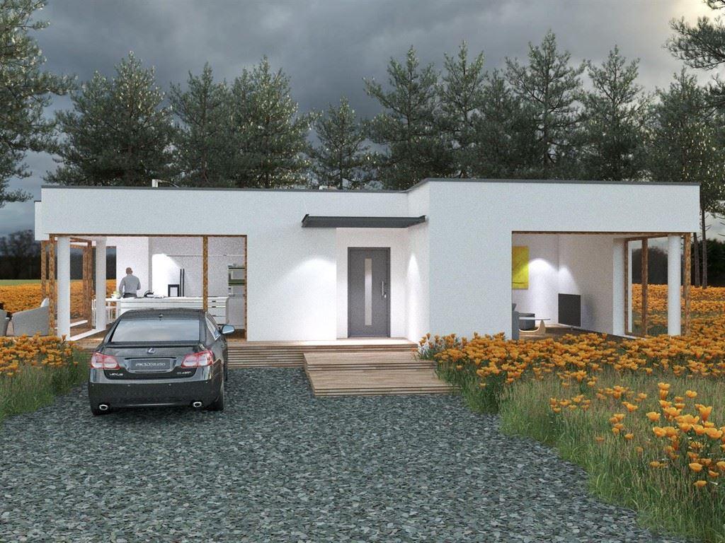 Dise o de la casa prefabricada sq44 0 casas prefabricadas - Casas diseno prefabricadas ...