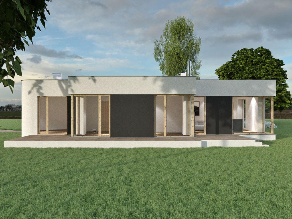 Dise o de la casa prefabricada sq64 casas prefabricadas - Casa prefabricada diseno ...