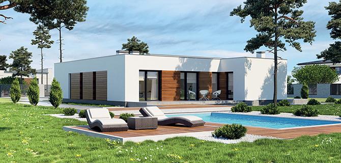 Modelos de chalets de una planta good modelos de casas sencillas para construir en dos pisos - Casas modulares modernas precios ...